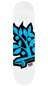 Shape de Skate Logotipia Blue