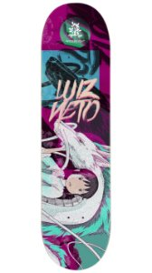 Maple Pro Model Luiz Neto Girl and Dragon