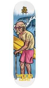 Shape de Skate Grandfather Surfer