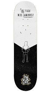 Shape de Skate Luz Para Meu Caminho