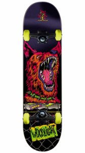 Skate Wood Light Attention Dog