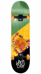 Skate Wood Light Orange