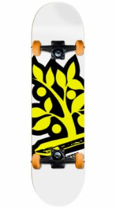 Skate Wood Light Logo Amarelo