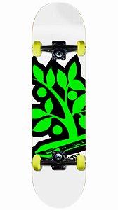 Skate Wood Light Logo Verde