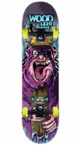Skate Wood Light Monkey
