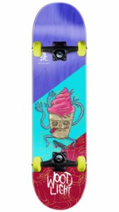 Skate Wood Light Sorvete Louco