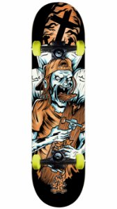 Skate Wood Light Zumbi
