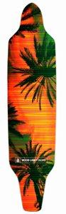 Shape Longboard Assimétrico Palm Tress