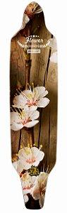 Shape Longboard Assimétrico Flower