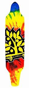 Shape Longboard Assimétrico Tie Dye Four
