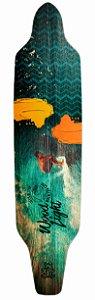 Shape Longboard Assimétrico Street Surfer