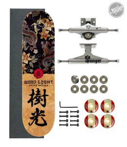 Skate Wood Light Amador Completo 8.0 Eastern