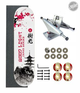 Skate Wood Light Amador Completo 8.0 Minka