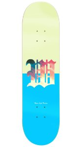 Shape de Skate Fiber Glass Dáblio - Bege/Blue