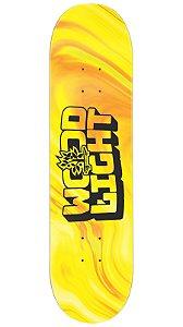 Shape de Skate Fiber Glass Liquid - Yellow