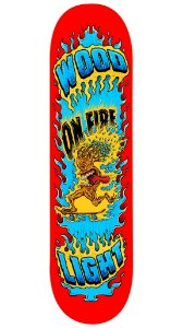 Shape de Skate Tree on Fire - Red