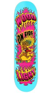 Shape de Skate Fiber Glass - Tree on Fire Cian