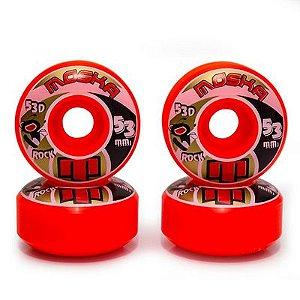 Roda Moska Rock Red 53mm