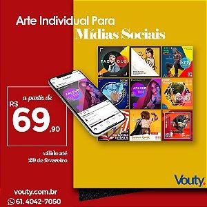 Criação de Arte individual para Mídias Sociais