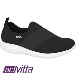 Tênis Actvitta Lycra Protection Elástico Preto 4806412