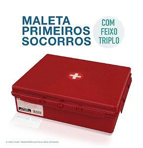 MALETA PARA PRIMEIROS SOCORROS VERMELHA
