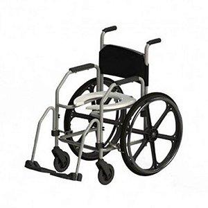 Cadeira de Rodas para Banho RG AÇO