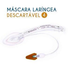 Máscara laríngea Descartável N4