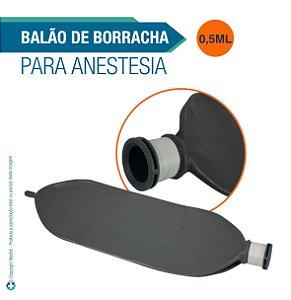 Balão de Borracha 1/2 Litro para Anestesia