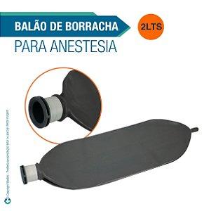 Balão de Borracha 2 Litros para Anestesia
