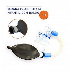 Conjunto Infantil de Anestesia Baraka Latex 1 Litro
