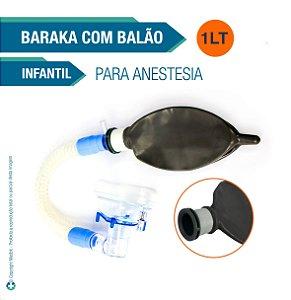 Conjunto Infantil para Anestesia Balão 1 Litro (Baraka)