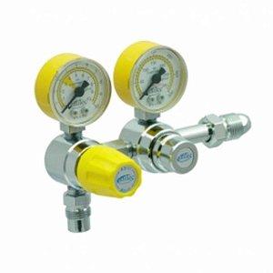 Válvula Reguladora P/ Cilindro Duplo Estágio Ar Comprimido