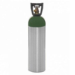 Cilindro de Oxigênio Medicinal em Alumínio  10 Litros (Sem carga)