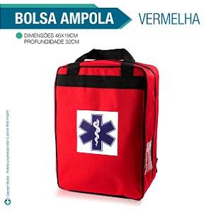 Bolsa Para Ampola Vermelha - Vazia