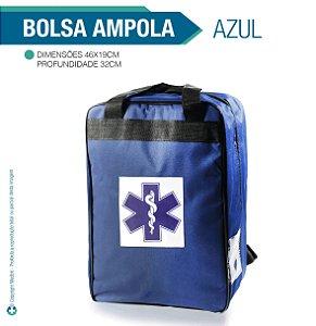 Bolsa para Ampola Azul - vazia