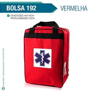 Bolsa 192 Vazia vermelha - Almofadada