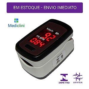 Oxímetro Pulso para Dedo Mediclini - AS302L