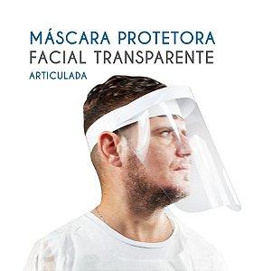 Máscara Protetor Facial Face Shield Reutilizável