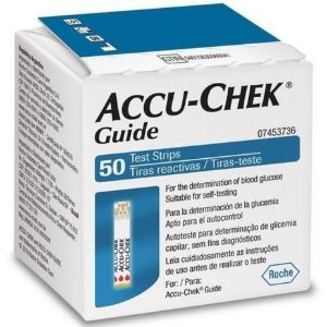 Tiras de Glicemia Accu-Chek Guide Economy 50 Unidades