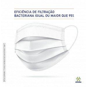 MÁSCARA CIRÚRGICA TRIPLA VENKURI - 50 UNIDADES