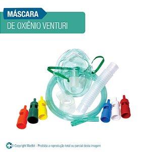 Máscara de Oxigênio Venturi Adulta
