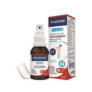 Caixa com 24 Unidades - Povidine Solução Tópica Spray 30ml Itacê
