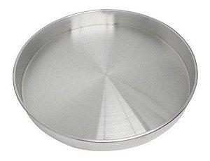 Forma Redonda de Alumínio para Bolo NakedCake 15x3cm - Kit C/ 3 Um