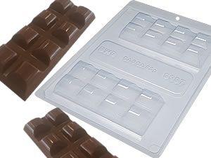 Forma de Acetato Com Silicone - Tablete Barra - Bwb unidade