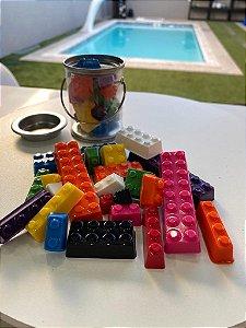 Forma Especial Blocos de Chocolate Lego - Bwb