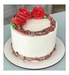 Cake Board Em Mdf 15 Cm - Com 10 Unidades