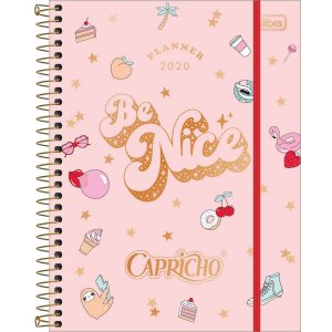 Planner Espiral Capricho 2020 | Tilibra
