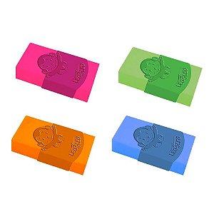 Borracha Branca Tk Plast. Max Neon | Cores variadas | Leonora