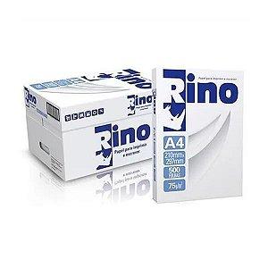 Caixa de Papel sulfite A4 (210 x 297 mm) 75g |Pc. 500 Fls com 10Pc. | Rino