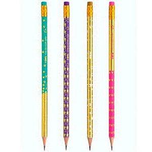 Lápis preto com borracha HB Collection Star | TRIS